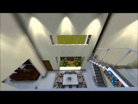 Maquete 3D - Sobrado - TR Criar Arquitetura e Projetos