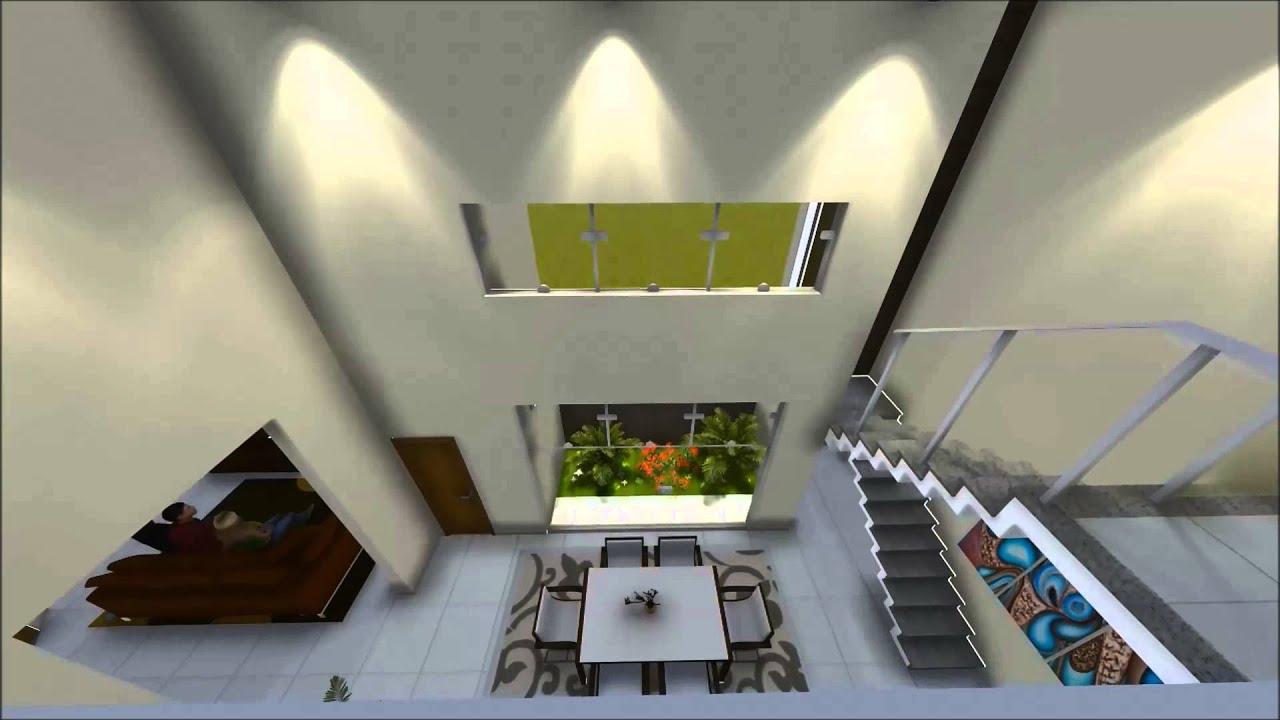 #988933 Maquete 3D Sobrado TR Criar Arquitetura e Projetos   1920x1080 píxeis em Criar Casas 3d