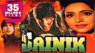 Sainik (1993) Full Hindi Movie | Akshay Kumar, Ashwini Bhave, Farheen, Ronit Roy