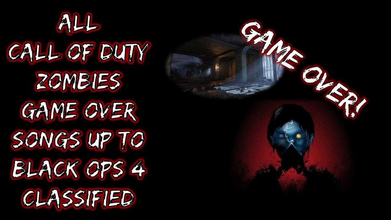 Call of Duty Zombies: All Game Overs Nacht Der Untoten to ...