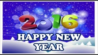 Happy New Year 2016 SMS, Wishes, Greetings, HD Images, Quotes