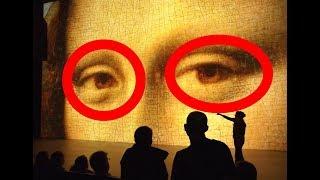 В глазах Мона Лизы ученые УВИДЕЛИ СЕКРЕТНОЕ ПОСЛАНИЕ