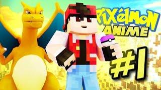 pixelmon anime trainer red minecraft pixelmon roleplay episode 1