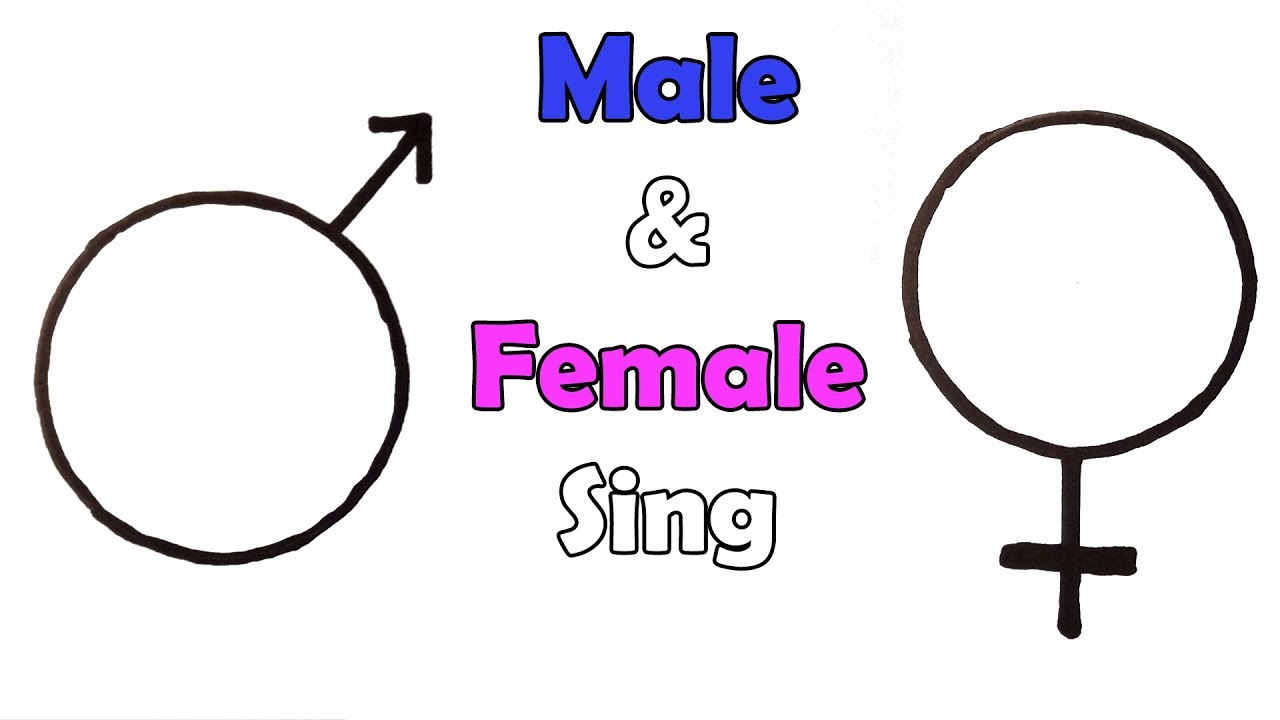 How To Draw The Male And Female Sing Mars And Venus Symbols Very