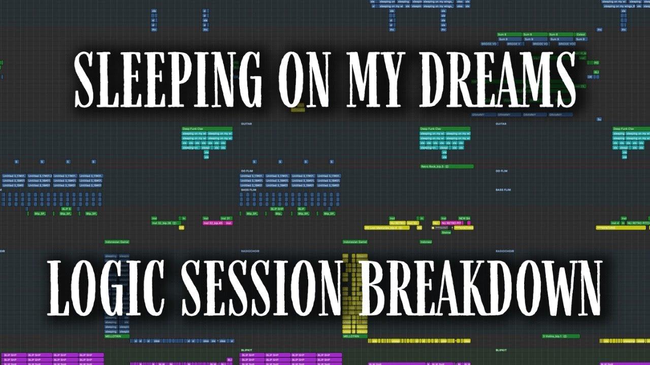 "LOGIC SESSION BREAKDOWN: ""Sleeping On My Dreams"" [Jacob Collier]"
