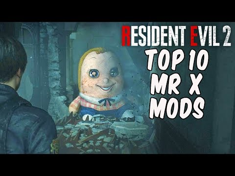Resident Evil 2 - TOP 10 MR X MODS!