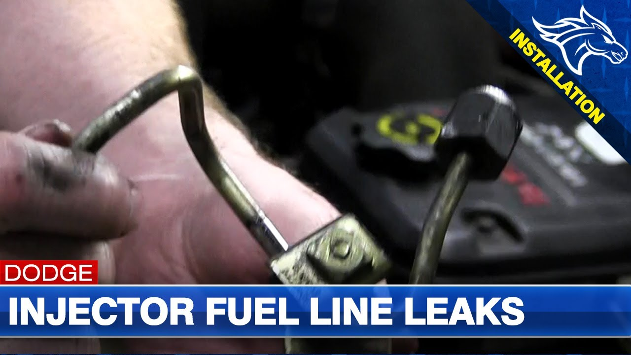High Pressure Injector Fuel Line Leaks & #4 Fuel Line Install: 03-07 Dodge  Cummins