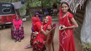 Beautiful  Sri Lankan family kalpitiya