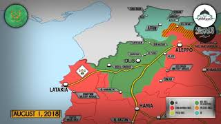 1 августа 2018. Военная обстановка в Сирии. 100 игиловцев сдались сирийской армии на юге Сирии.