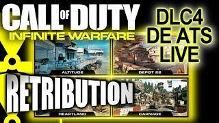 DE-ATOMIZER ON ALL 4 NEW DLC MAPS! RETRIBUTION DLC! INFINITE WARFARE!