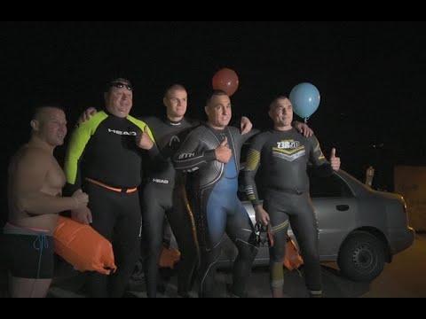 mistotvpoltava: Перший нічний заплив у Кременчуці