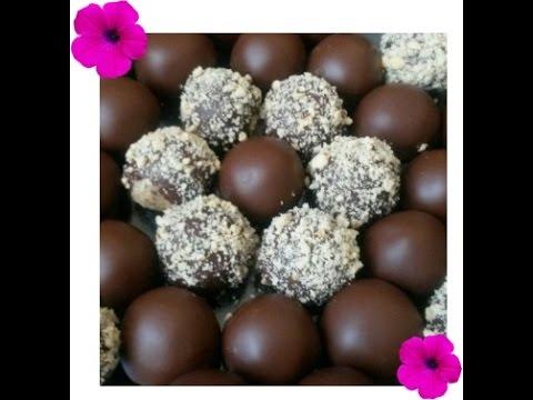 Cevizli Çikolatalı Toplar Tarifi
