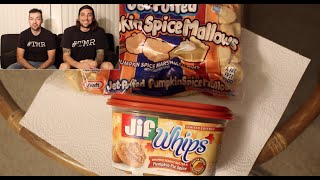 Pumpkin Spice Double Dip - Peanut Butter And Marshmallows - The Two Minute Reviews - Ep. 407 #tmr
