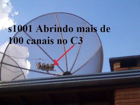 Kit carona C1,C2,C3 e 58W Na mesma antena de 2.40 m!!!