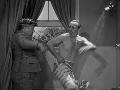 Jay Eaton - taking a bath with the Three Stooges.