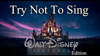If You Sing You Lose - Disney Edition