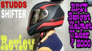 My New Crown | Studds Shifter D2 | Review | Best Budget Helmet Under 2k |