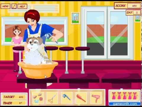 วีดีโอการเล่นเกม Pet Salon ร้านเสริมสวยสัตว์เลี้ยง