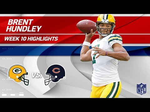 Brett Hundley Leads Green Bay to Victory Over Chicago! | Packers vs. Bears | Wk 10 Player Highlights