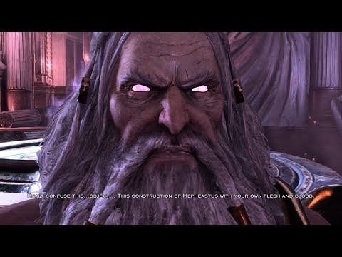 God of War 3 PS4 - Zeus Final Boss & Ending (1080p 60fps)