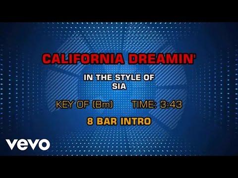 Sia - California Dreamin' (Karaoke)