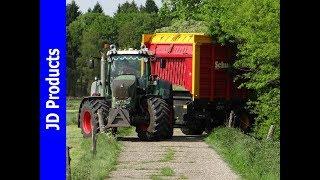 Fendt 828/Cat 930K/Visch BV/Grass silage/Gras inkuilen/Gras einfahren/Doornspijk/2017