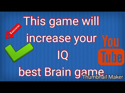 Best Brain Game To Increase Your IQ For Android।।