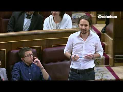 """Pablo Iglesias: """"Felipe González tiene el pasado manchado de cal viva"""""""