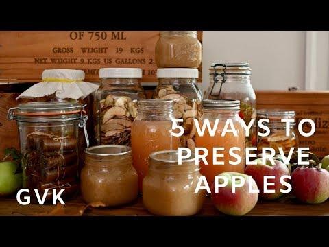 5 Ways to Preserve Apples