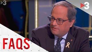 FAQS | Entrevista al president de la Generalitat, Quim Torra