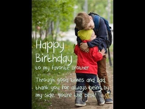 Whatsapp Status Birthday Wishes Happy Birthday My Brother Whatsapp