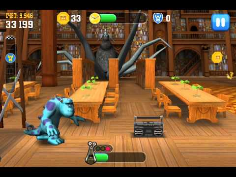 Monsters University - Avoid the Parent Sulley Level 12 ios iphone gameplay