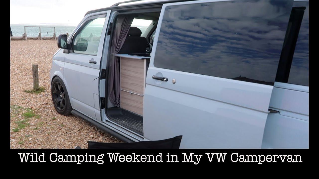 Wild Camping Weekend In My VW Campervan