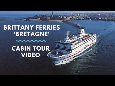 Cabin Tour of St Malo - Portsmouth 'Bretagne' Cruise Ferry with Brittany Ferries