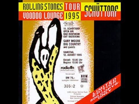 The Rolling Stones Live In Sch 252 Ttorf Germany 1995 Youtube
