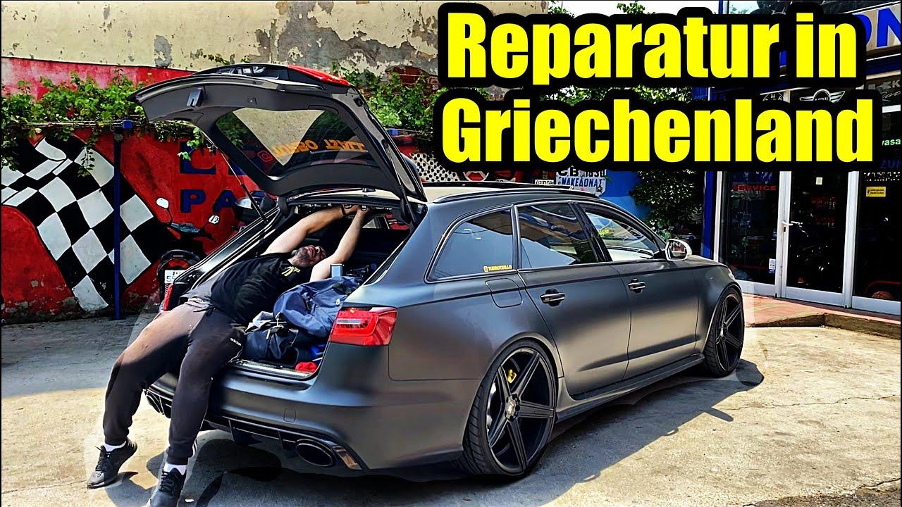 Audi RS6 Reparatur in Griechenland 10x günstiger als in Deutschland?