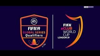 FIFA E-Club World Cup / Londra 2019 - Final Maçı İlk Tur