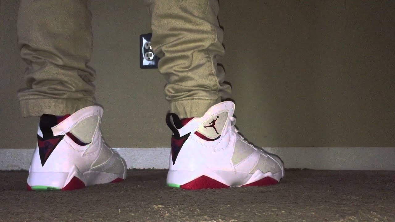 Air Jordan 7 hare 2015 (On Feet) - YouTube 9c718faca