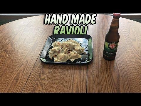 YGIC: Spinach and Chicken Ravioli