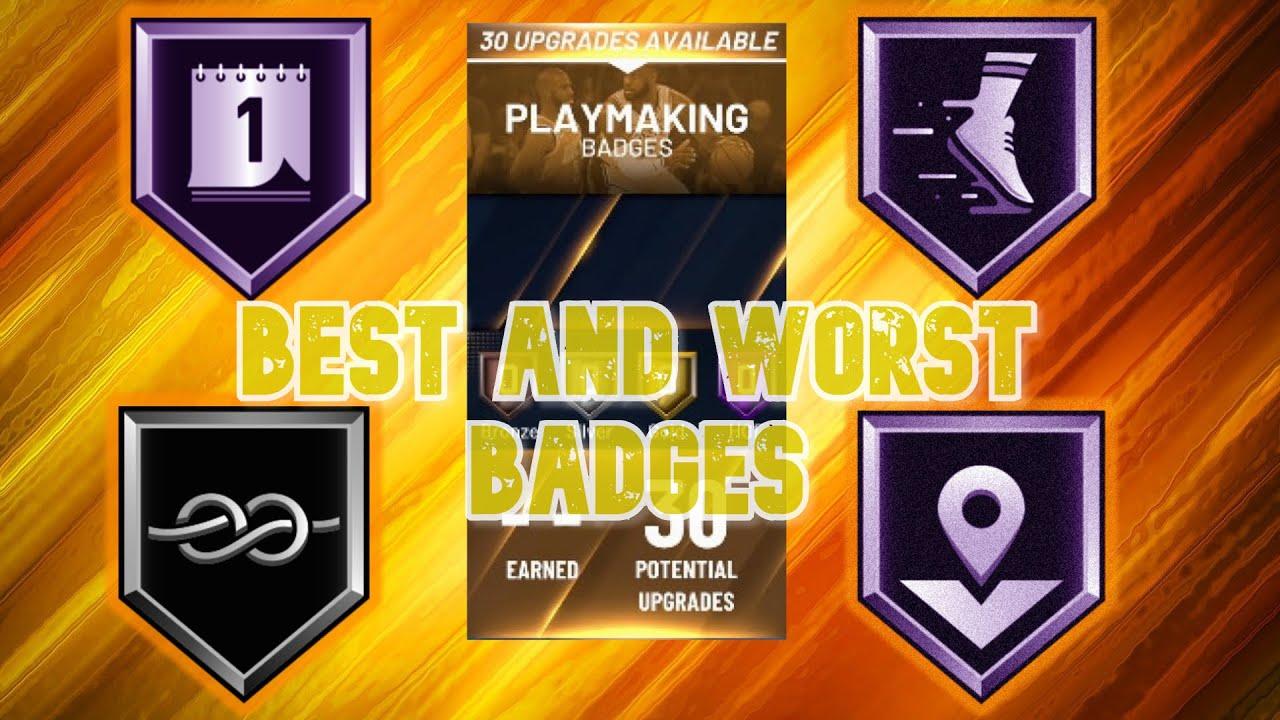 Best playmaking badges 2k20