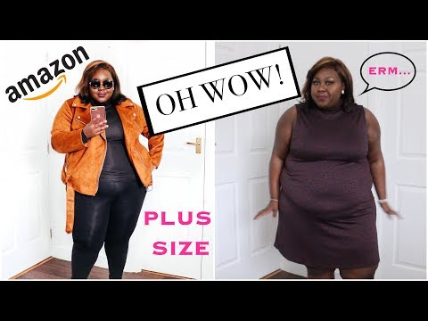 OK, SO AMAZON DO FASHION NOW? A PLUS SIZE HAUL AND BRUTALLY HONEST REVIEW!