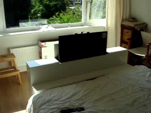 led lcd tv lift systeem meubel van kenger meubelen uit. Black Bedroom Furniture Sets. Home Design Ideas