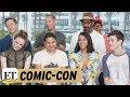 Comic Con 2017: 'Flash' Stars Dish on WestAllen Wedding Iris Becomes 'Leader' for Team Flash in S…