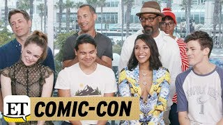 Comic Con 2017 Flash Stars Dish on WestAllen Wedding Iris Becomes Leader for Team Flash in S