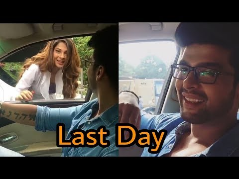 Thumbnail: Latest Offscreen videos of Maya and Arjun from the sets of Beyhadh on last episode or ❤