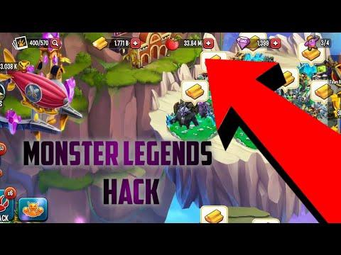 monster legends unlimited gems apk 2018