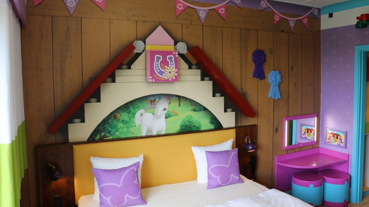 hotel legoland billund lego friends room 2017 youtube. Black Bedroom Furniture Sets. Home Design Ideas