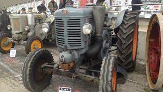 Tractomania de Caussade 2016. Tracteurs Landini, SFV, Orsi. Old agricultural farm tractors