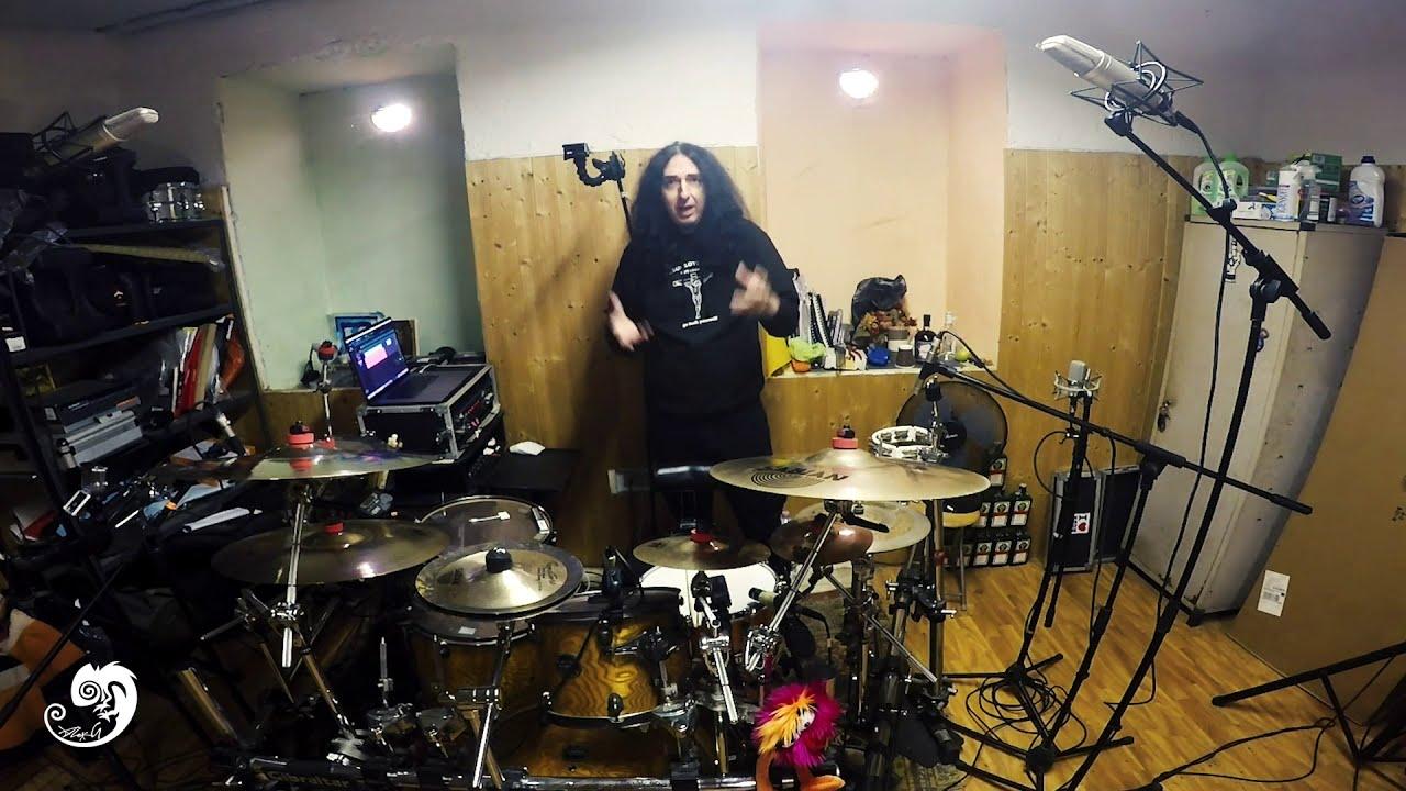 Alex Galanti - Finding creativity on drums