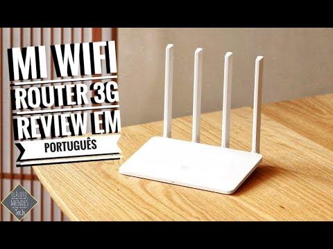 Xiaomi Mi Wi-Fi Router 3G Review em Português | Melhora o Wi-Fi em tua Casa